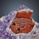 Amethyst mit Ätzstrukturen
